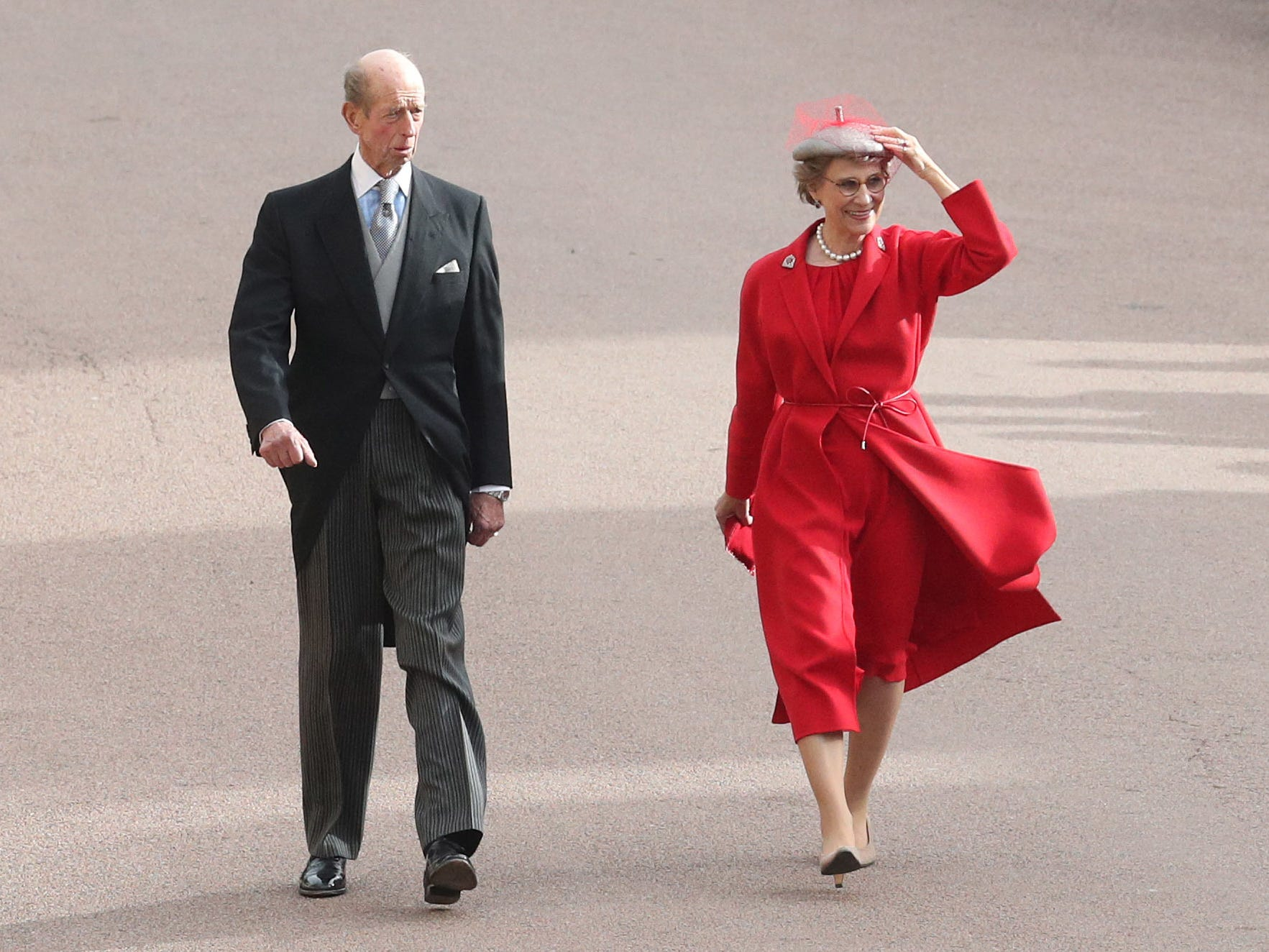 Prince Edward, Duke of Kent and Katharine, Duchess of Kent.