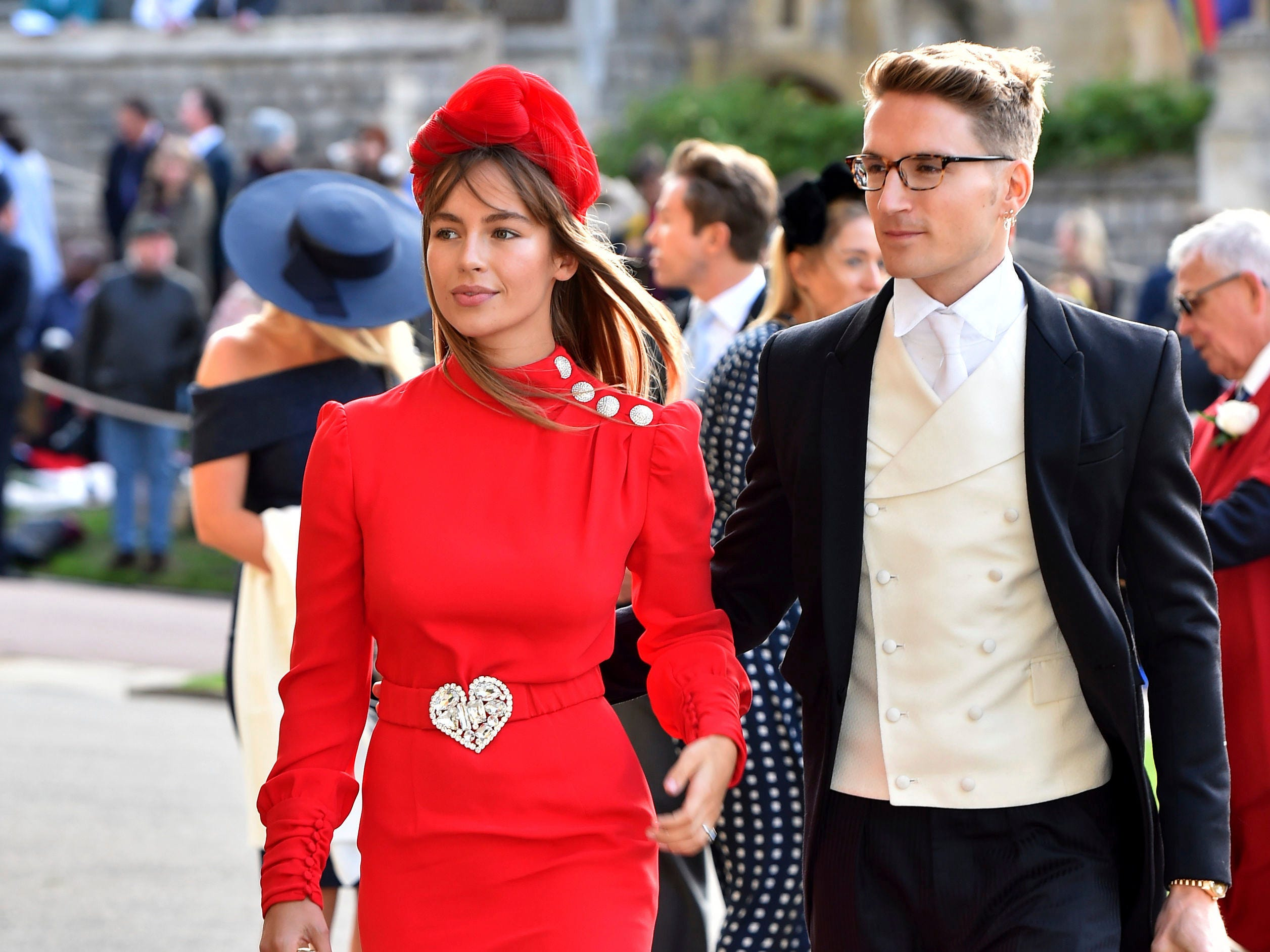 Emma Louise Connolly and Oliver Proudlock.