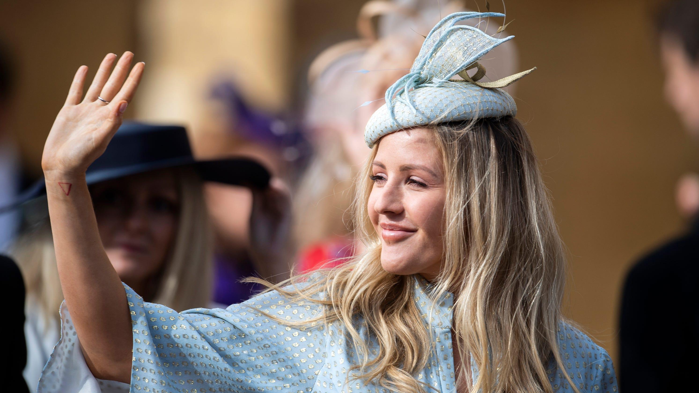 Ellie Goulding is married! The singer wed her art dealer boyfriend in a lavish ceremony at York Minster