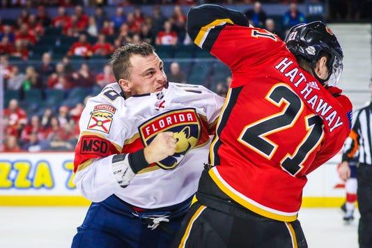 Usp Nhl Florida Panthers At Calgary Flames S Hkn Cgy Fla