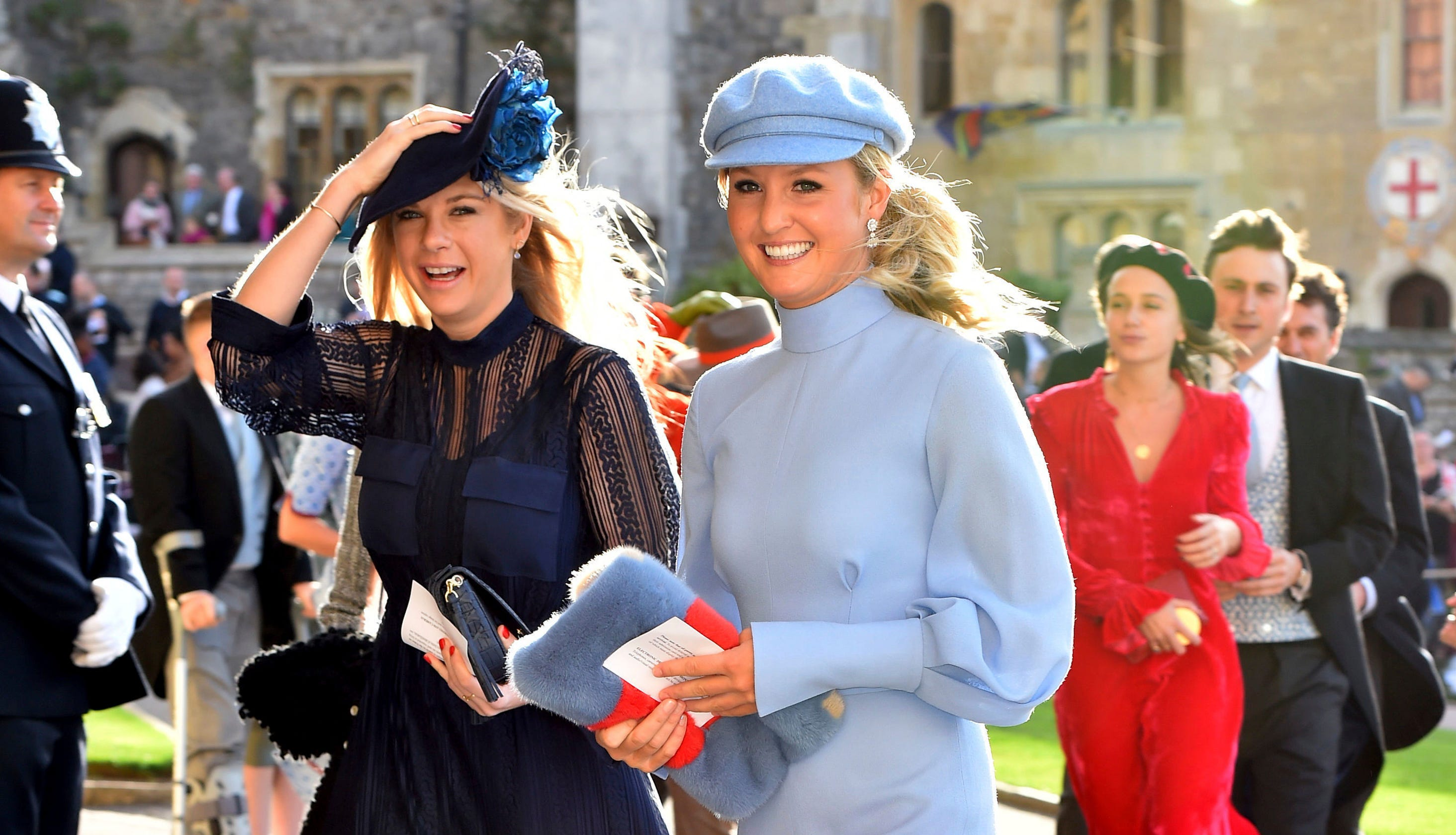 Prince Harry Ex Girlfriend Wedding.Prince Harry S Ex Girlfriends Seen At Princess Eugenie S Royal Wedding