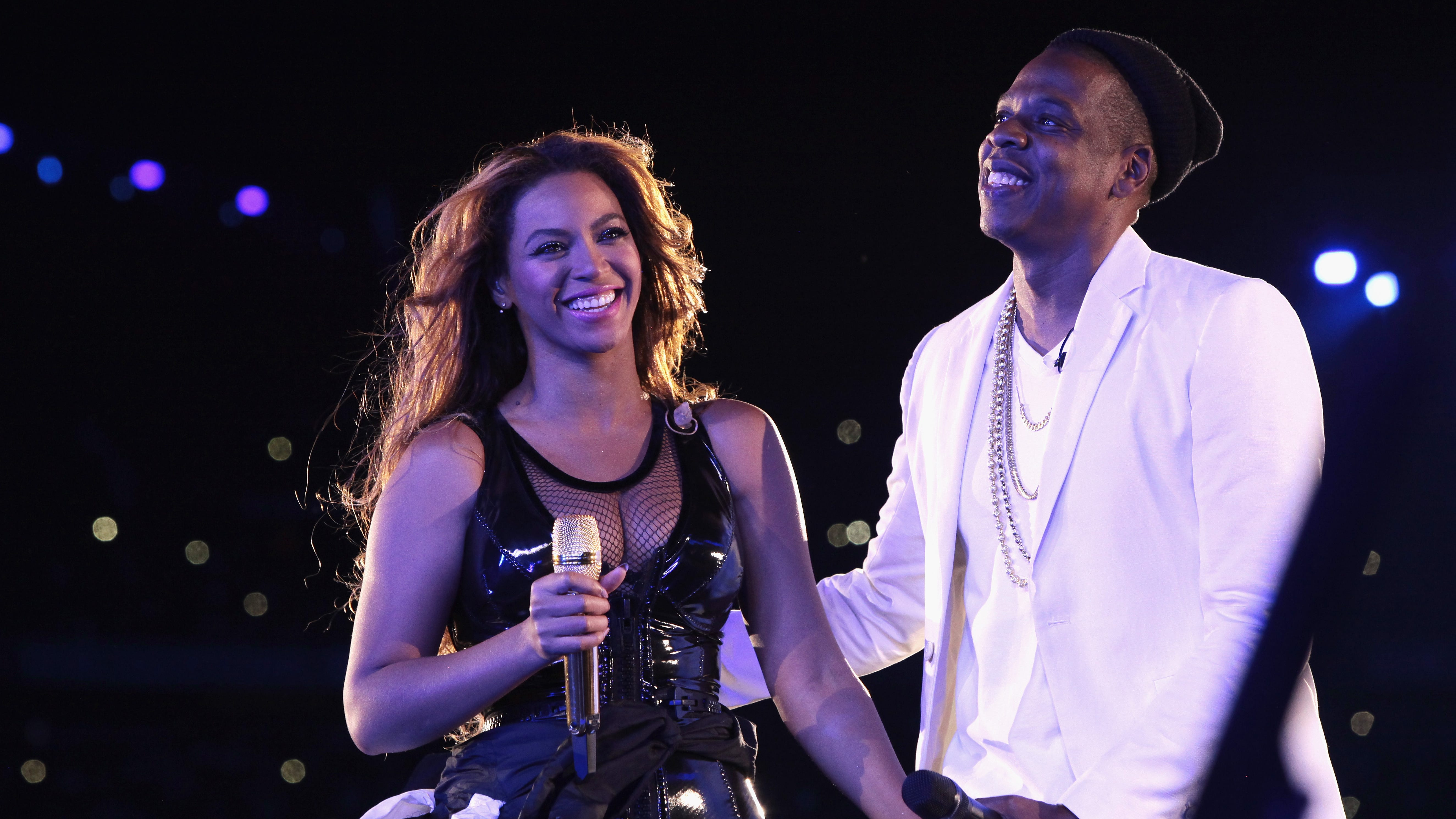 Beyonce wows at private performance in Los Angeles as Kanye's antics hang in the air