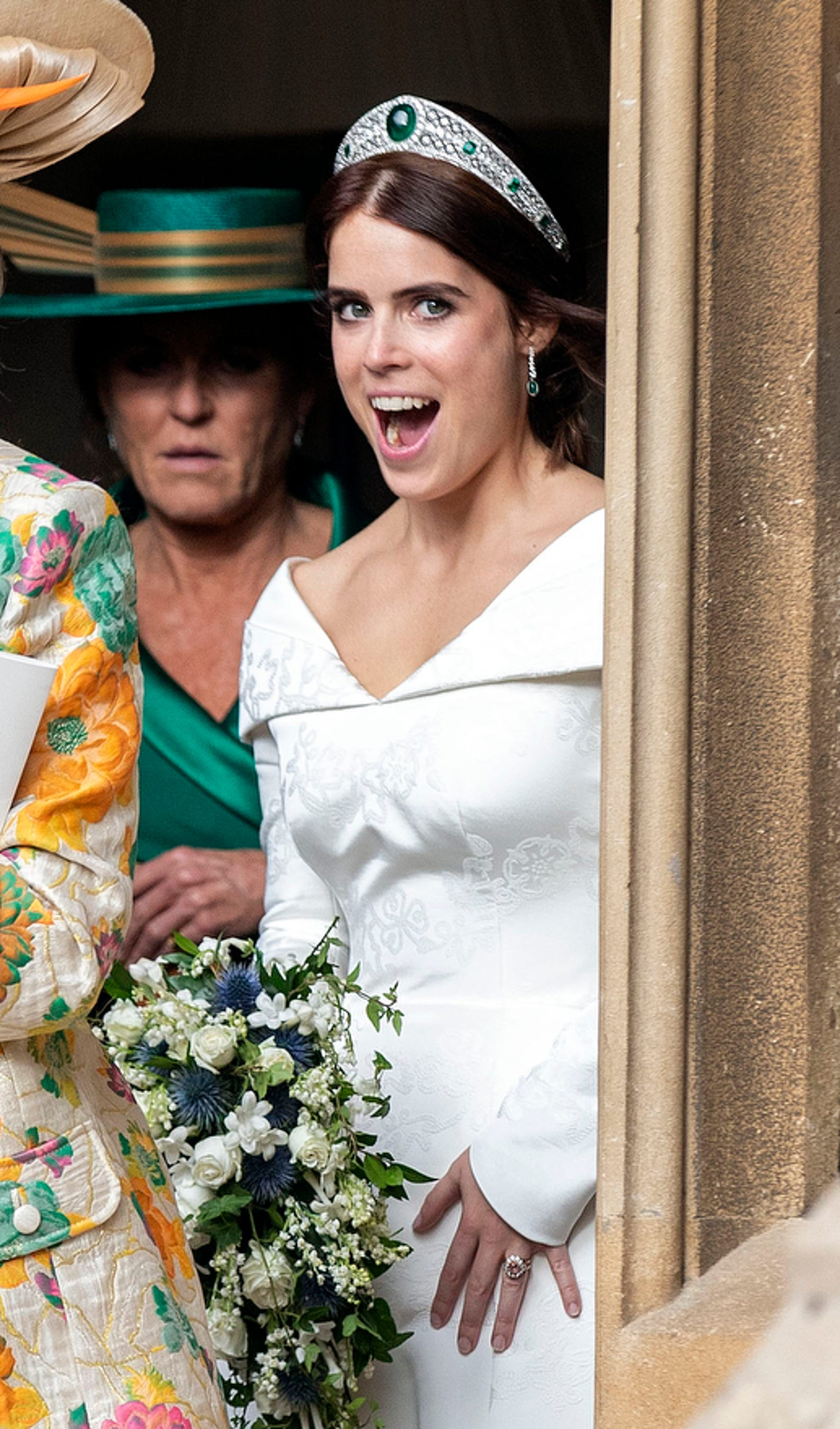 Princess Eugenie Wedding.Scenes From Princess Eugenie S Royal Wedding To Jack Brooksbank
