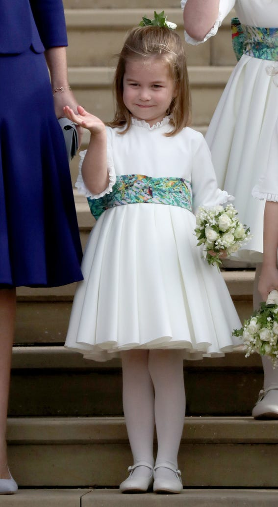 Princess Charlotte looking cute as ever.