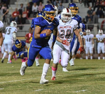 Wren At Palmetto Football Week 8