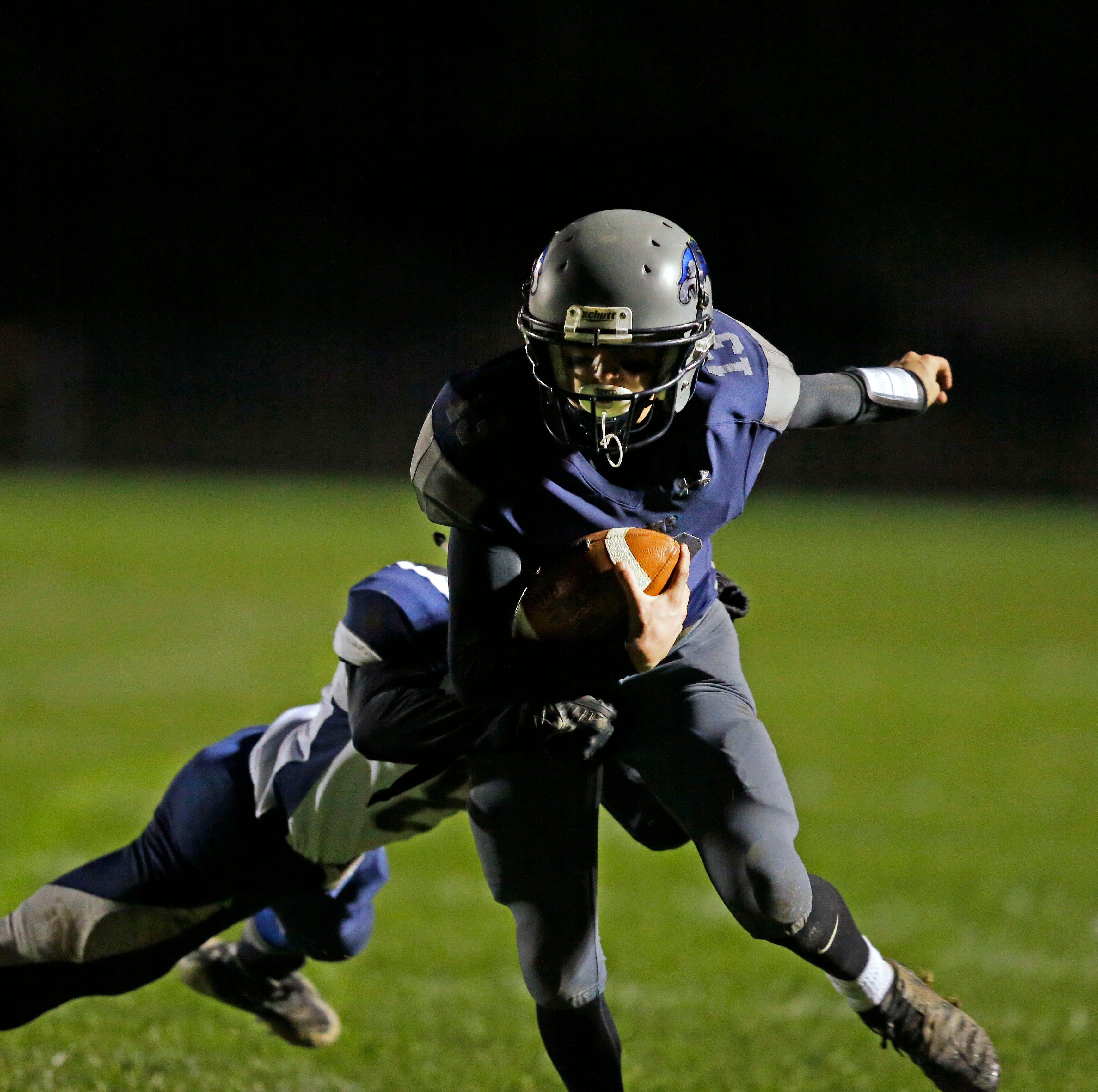 High school football: First-round playoff schedule/scores