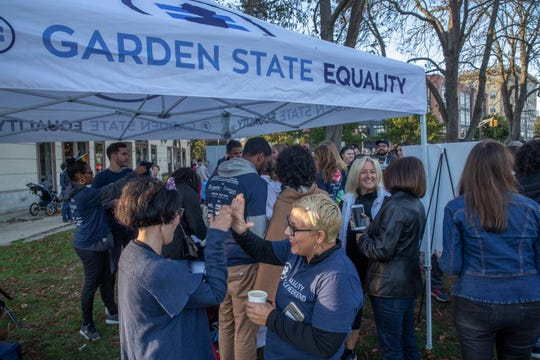 Several hundred showed up for the Equality Walk in Asbury Park. Funds raised through the walk will support Garden State Equality and its work advocating for the LGBT community.