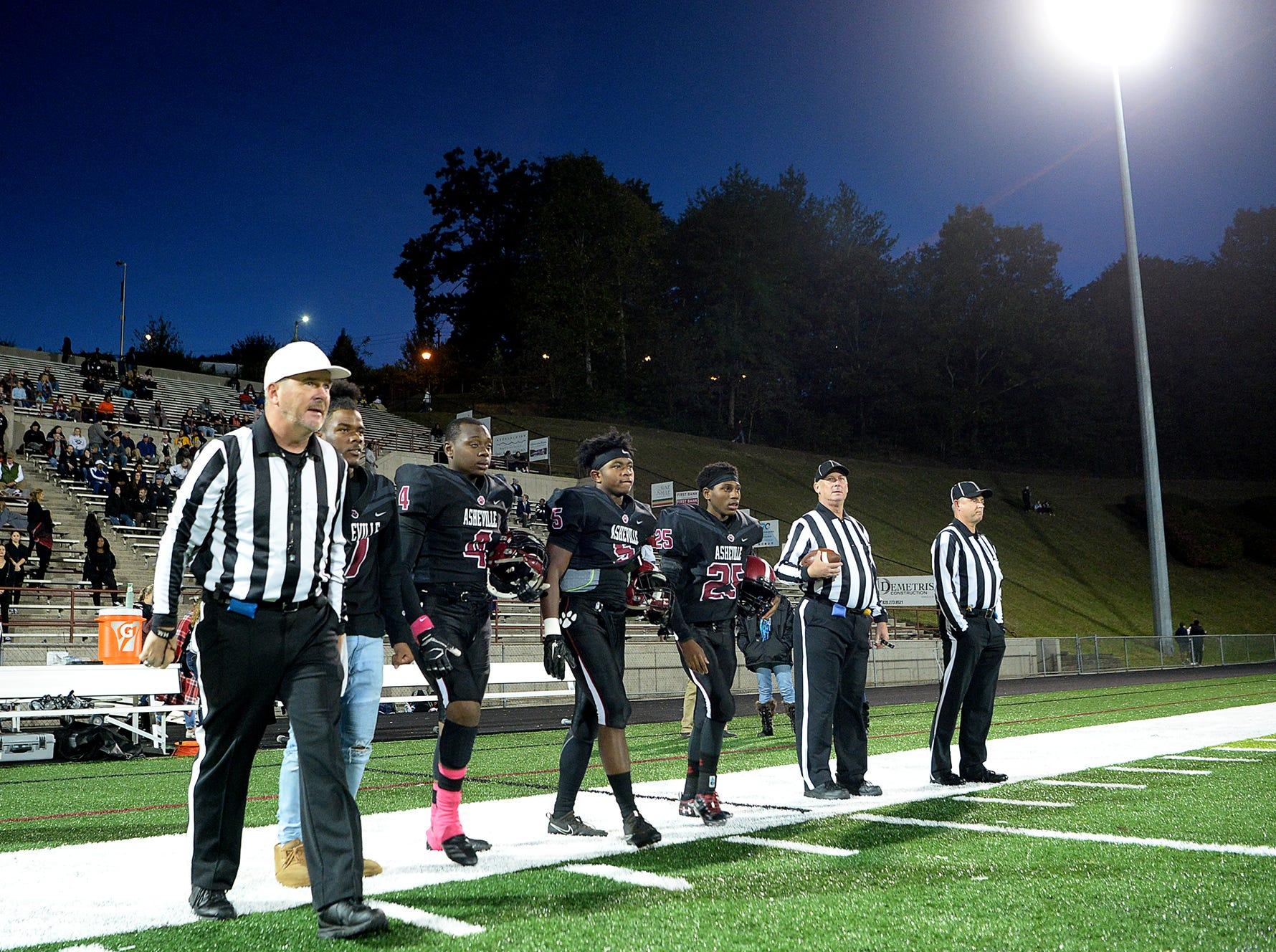 Asheville hosted Reynolds Oct. 12, 2018.