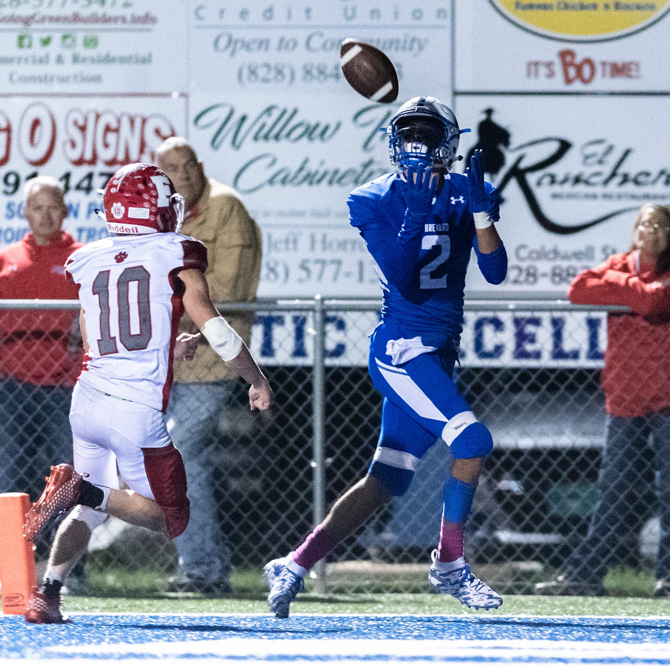 Brevard makes statement with rout of Franklin