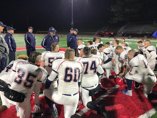 Forks breaks it down postgame at Chenango Valley.