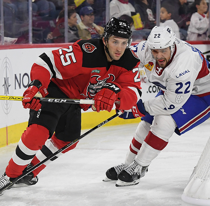 Early goals lead Laval past Binghamton Devils