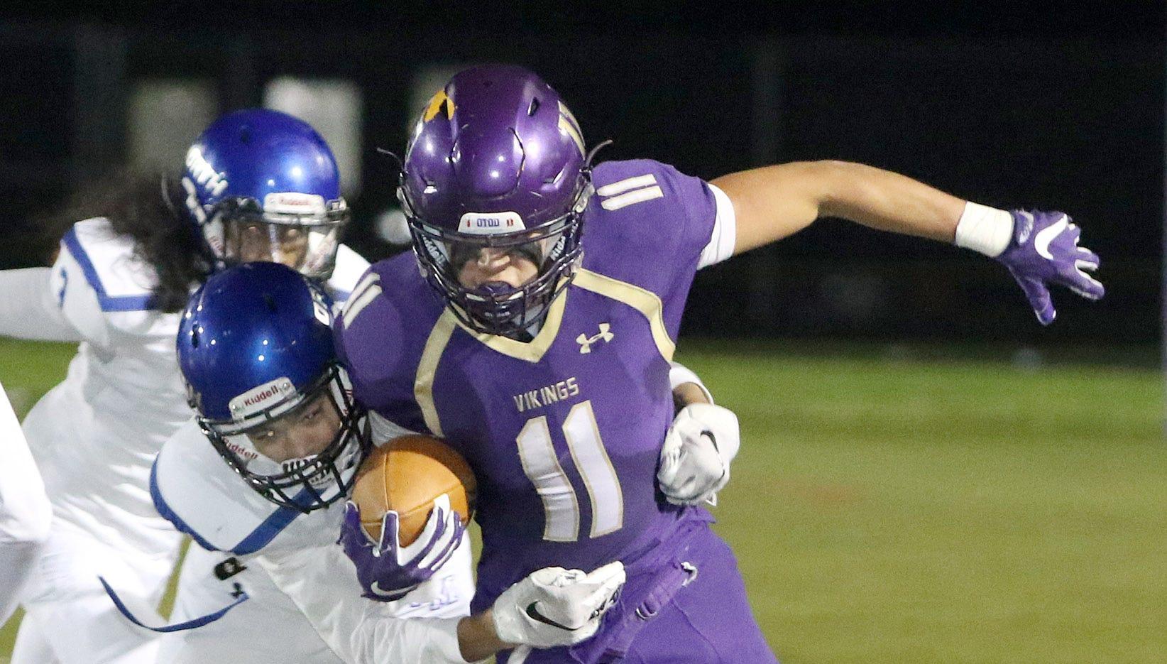 John Jones scored four touchdowns in North Kitsap's 53-6 win over North Mason on Friday.