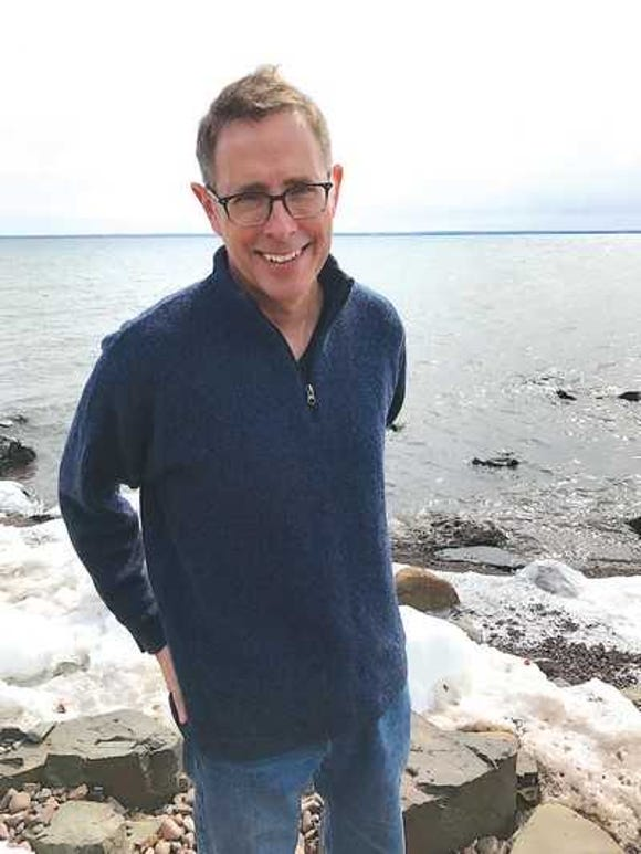 """Leil Enger talks about his new book, """"Virgil Wander,"""" Oct. 21 at the North Kitsap Community Auditorium."""