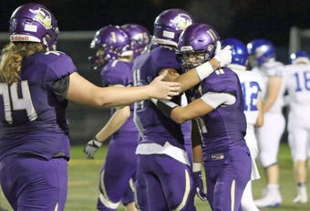 North Kitsap's football team knocked off North Mason 53-6 in the Kitsap Sun's Game of the Week on Oct. 12, 2018.