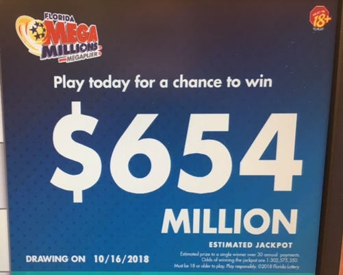 Money Money Powerball Rises To 345 Million Mega Millions 654m