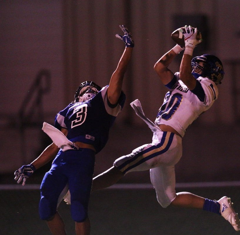 San Diego defensive back Sergio Guerra earns first team honors on APSE 3A All-State team