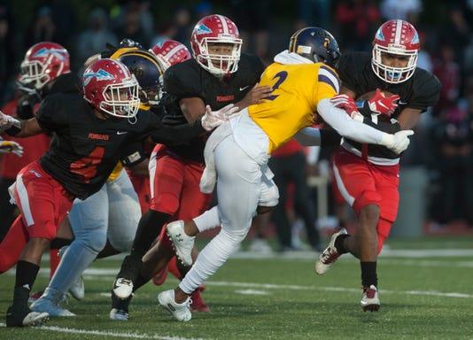 High School Football Camden Vs Pennsauken 6