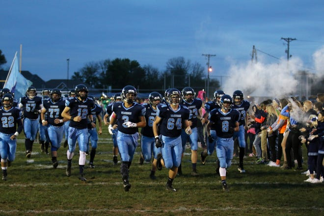 Adena defeated Zane Trace 48-17 Friday night in Frankfort, Ohio.