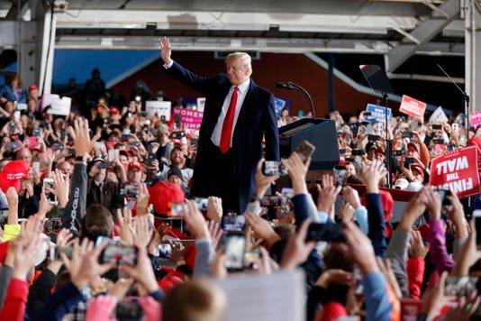 Trump In Cincinnati