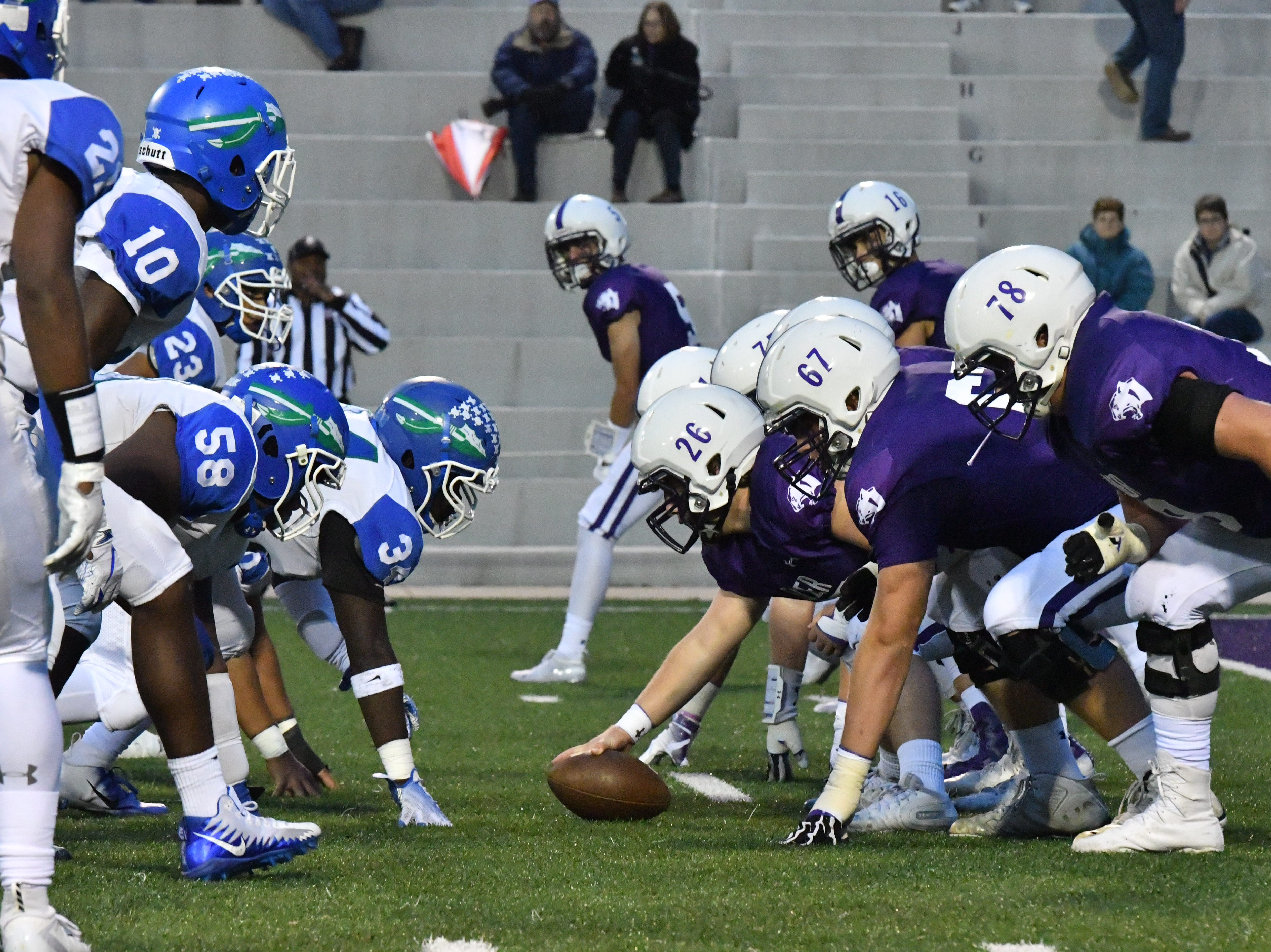 Winton Woods traveled to the Pit to take on the Elder Panthers Friday, Oct. 12, 2018 at High School