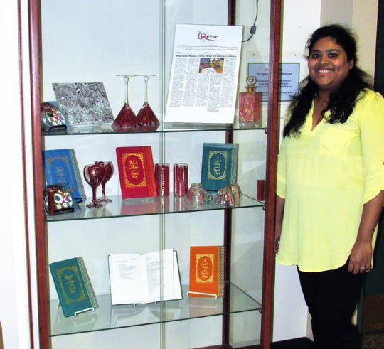 Explore the mixed media art of Bridgewater resident Sreyashi Ghosh at the Somerset County Library System of New Jersey's (SCLSNJ) Warren TownshipLibrary branch, 42 Mountain Blvd in Warren Township.The exhibition will be available for customers to view through Friday, Nov.30.