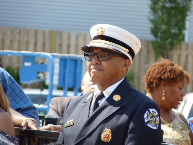 Former Plainfield Fire Chief Frank Tidwell