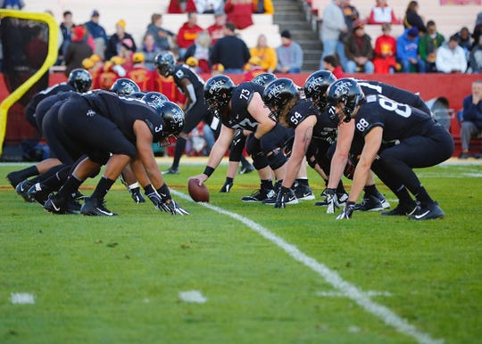 6ebd48a9ca8 Cyclone football debuts black uniforms for showdown with No. 6 West ...