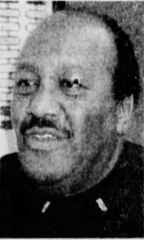 Captain Richard Sanders was promoted to captain of the Des Moines Police Department in 1991, making him the first black police officer to obtain that rank in the department's history.