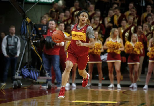 Iowa State guard Jade Thurmon is expected to play a bigger role for the Cyclones this season.