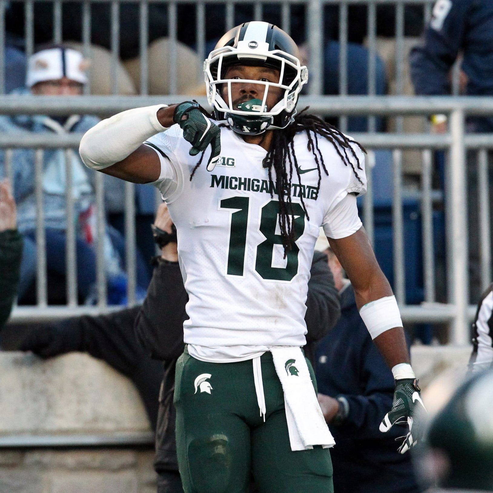 Michigan State's Felton Davis III presents test for Michigan football