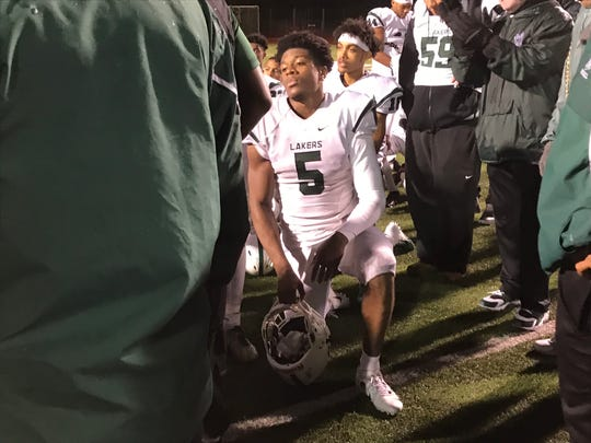 A tired Lance Dixon put in the work Friday night to help upset Oak Park on its Homecoming.