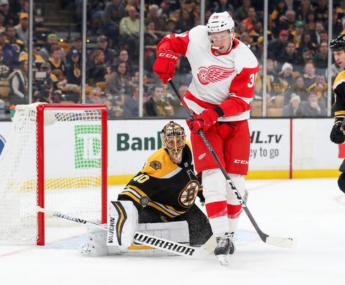 Nhl Detroit Red Wings At Boston Bruins