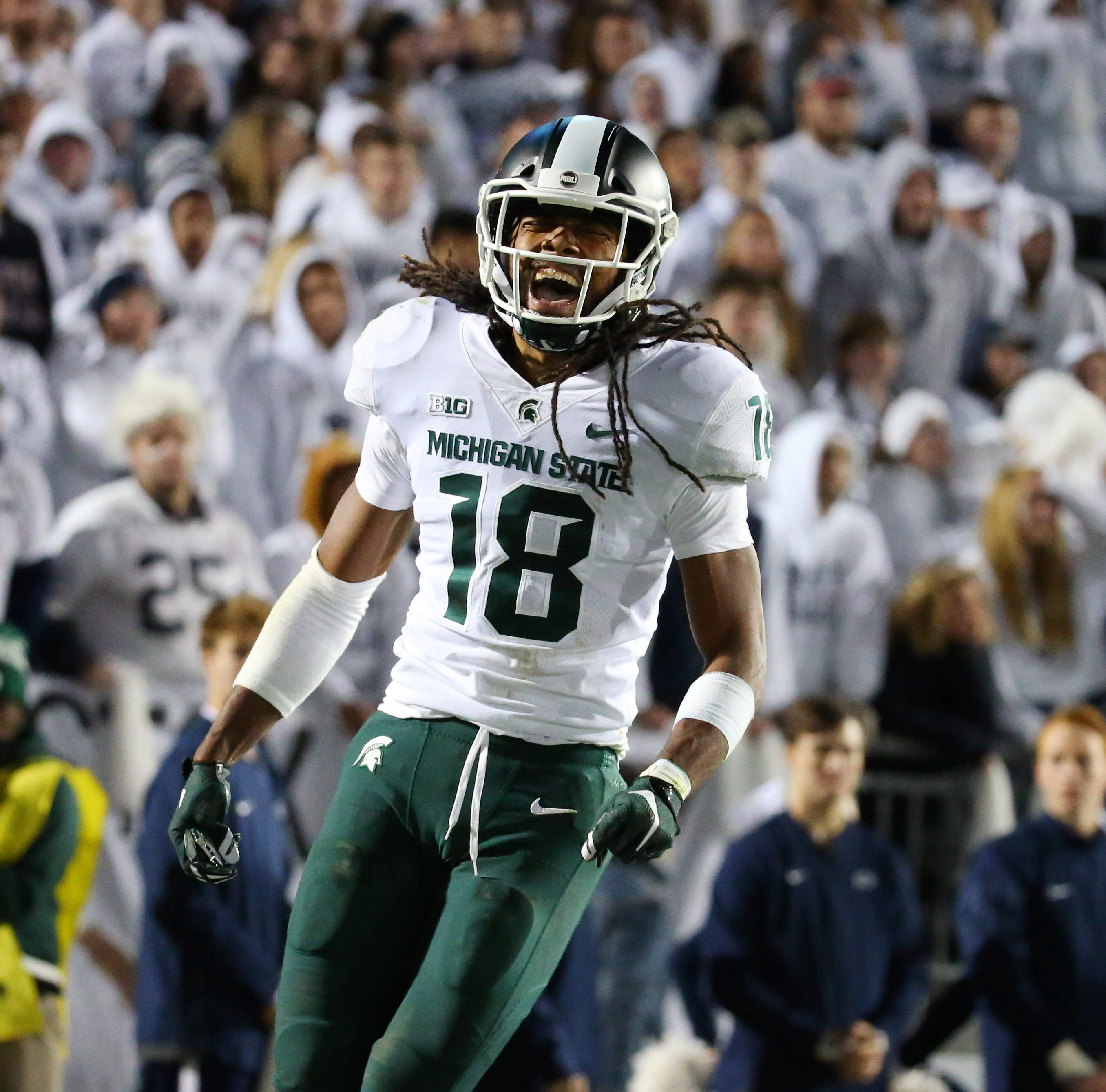 Michigan State reactions: Couches burning after Penn State win
