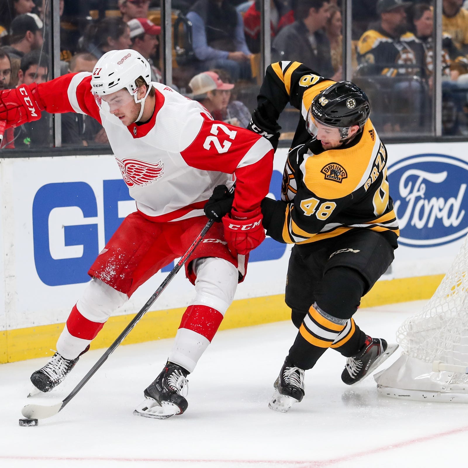 Detroit Red Wings may bench rookie Michael Rasmussen. Why that matters