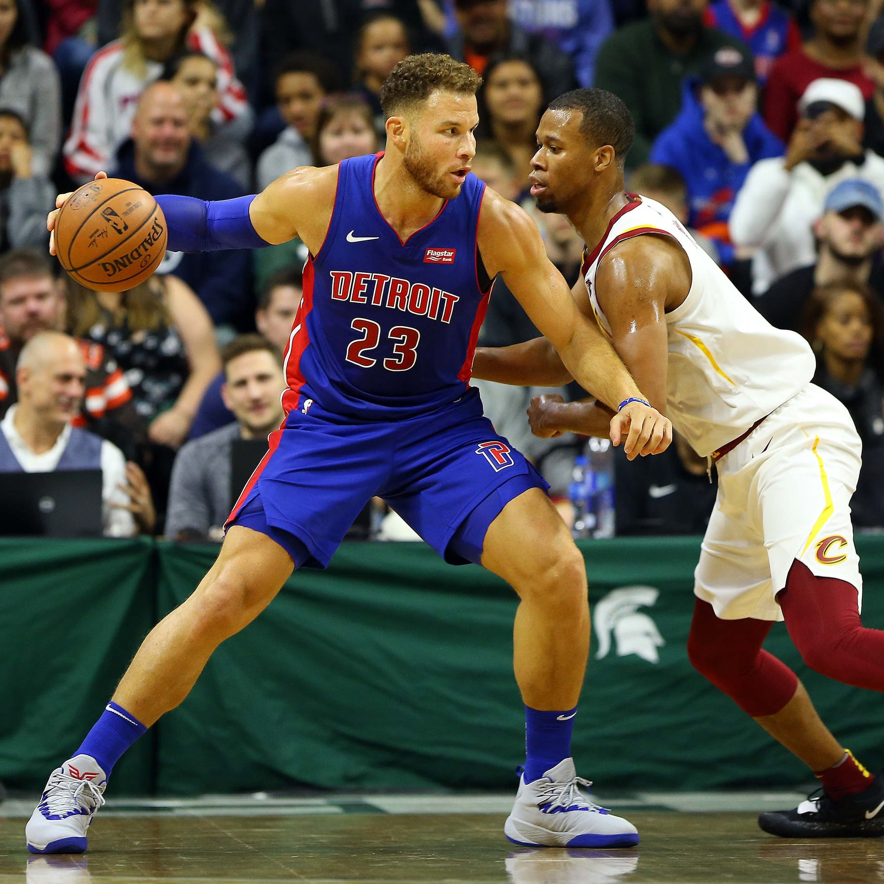 Blake Griffin 'is back' as Detroit Pistons hit Cavs with barrage of 3s