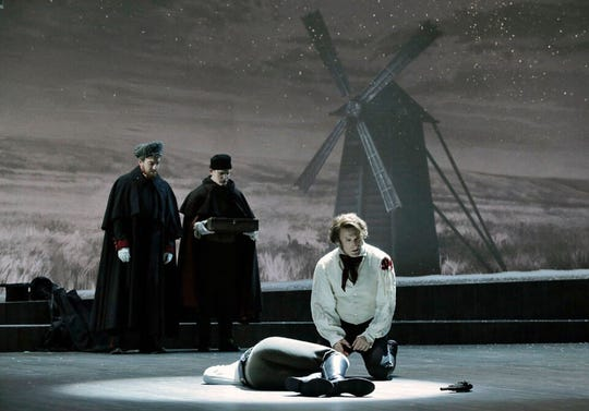 """Eugene Onegin"" is Michigan Opera Theatre's season-opening production."