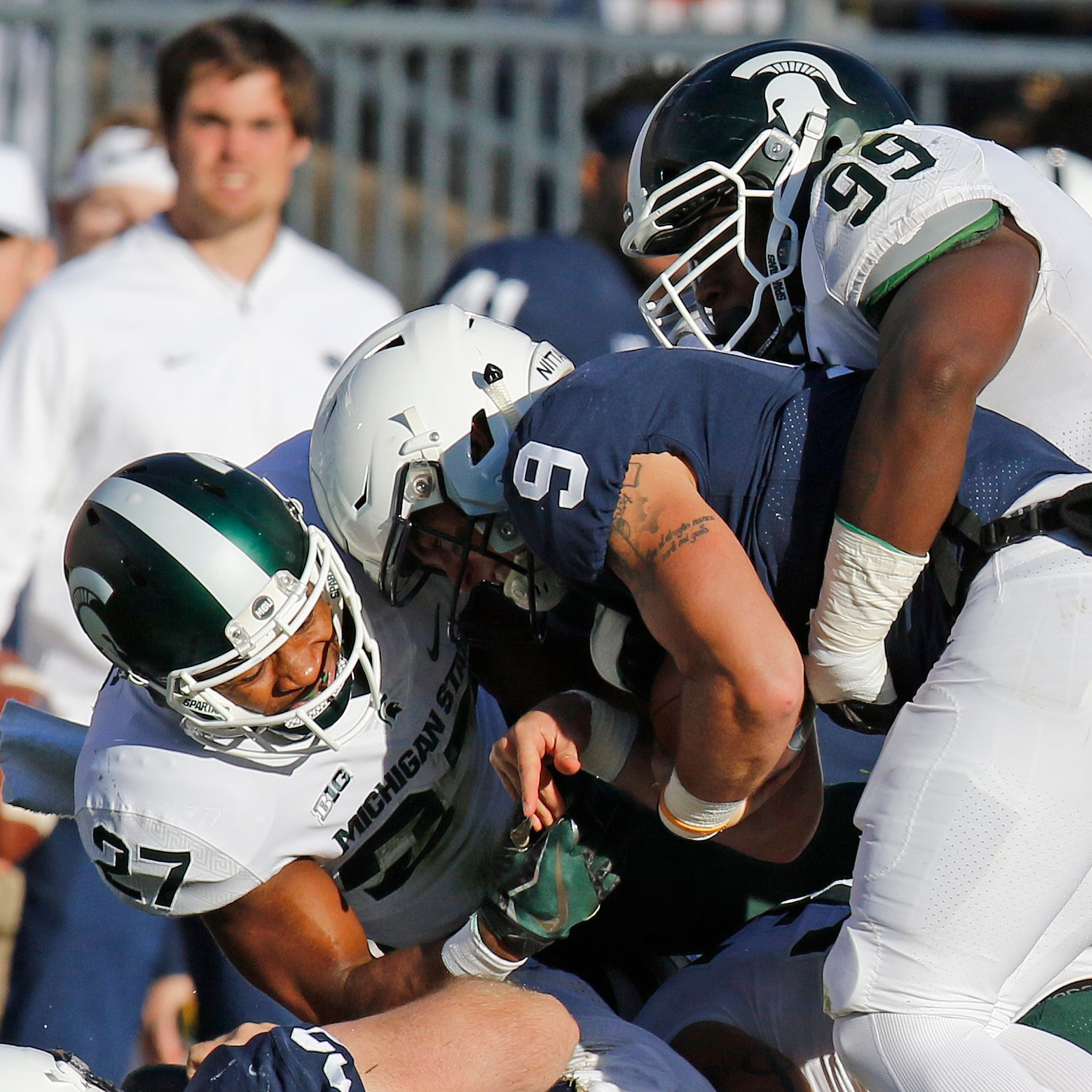 Michigan State football's defense 'stayed in the fight' vs. Penn State