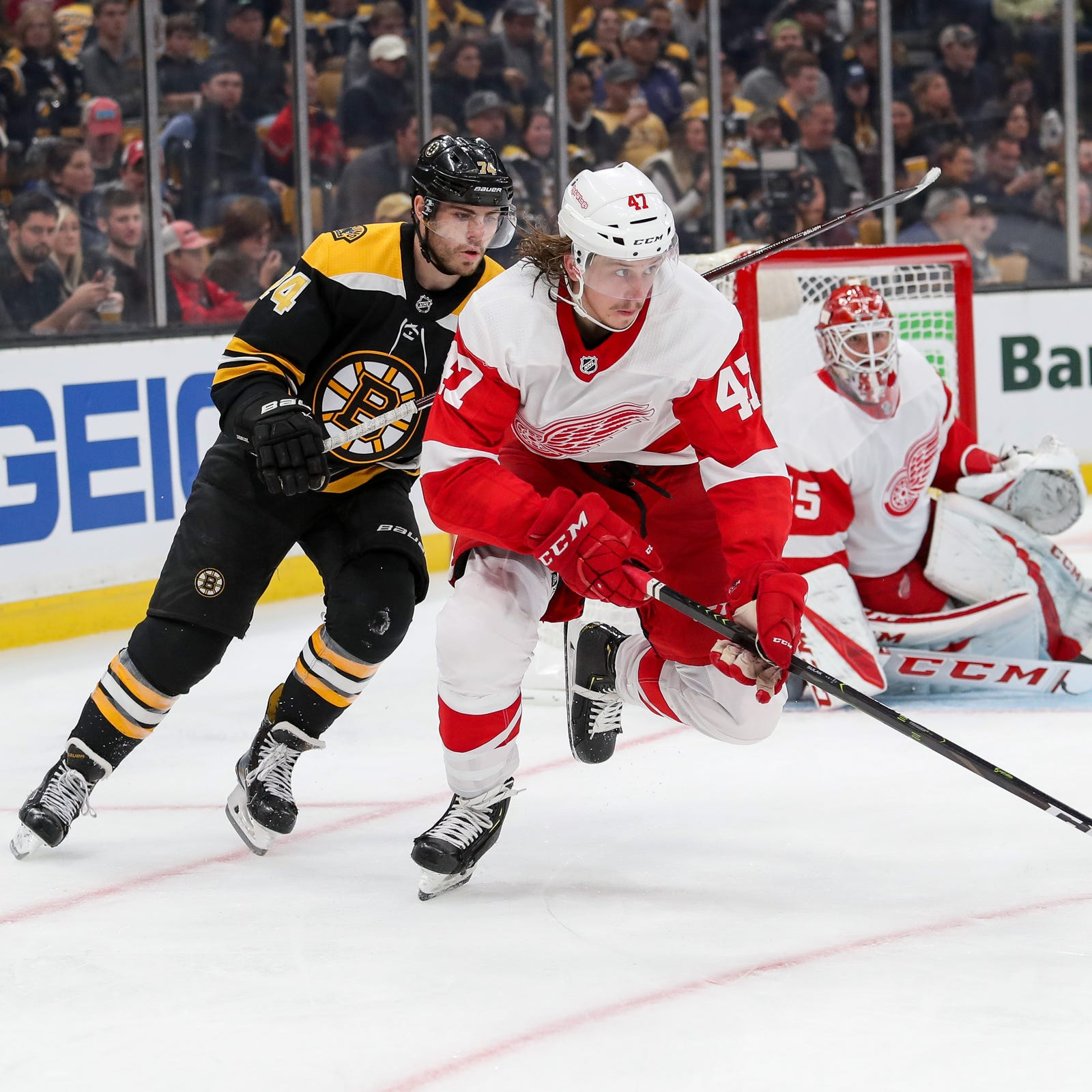 Detroit Red Wings' forwards 'not good enough,' need to hold onto puck