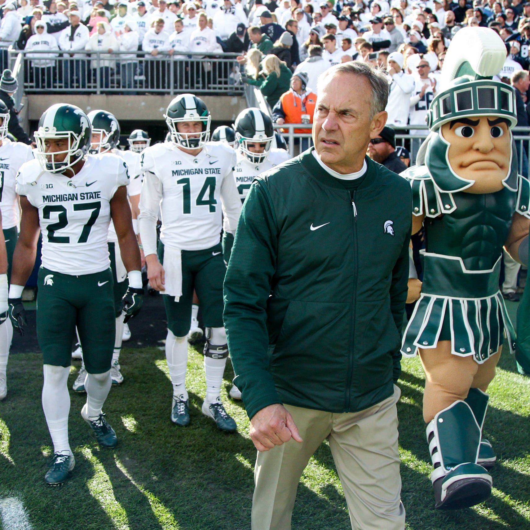Mark Dantonio: Michigan State ready to build off upset win