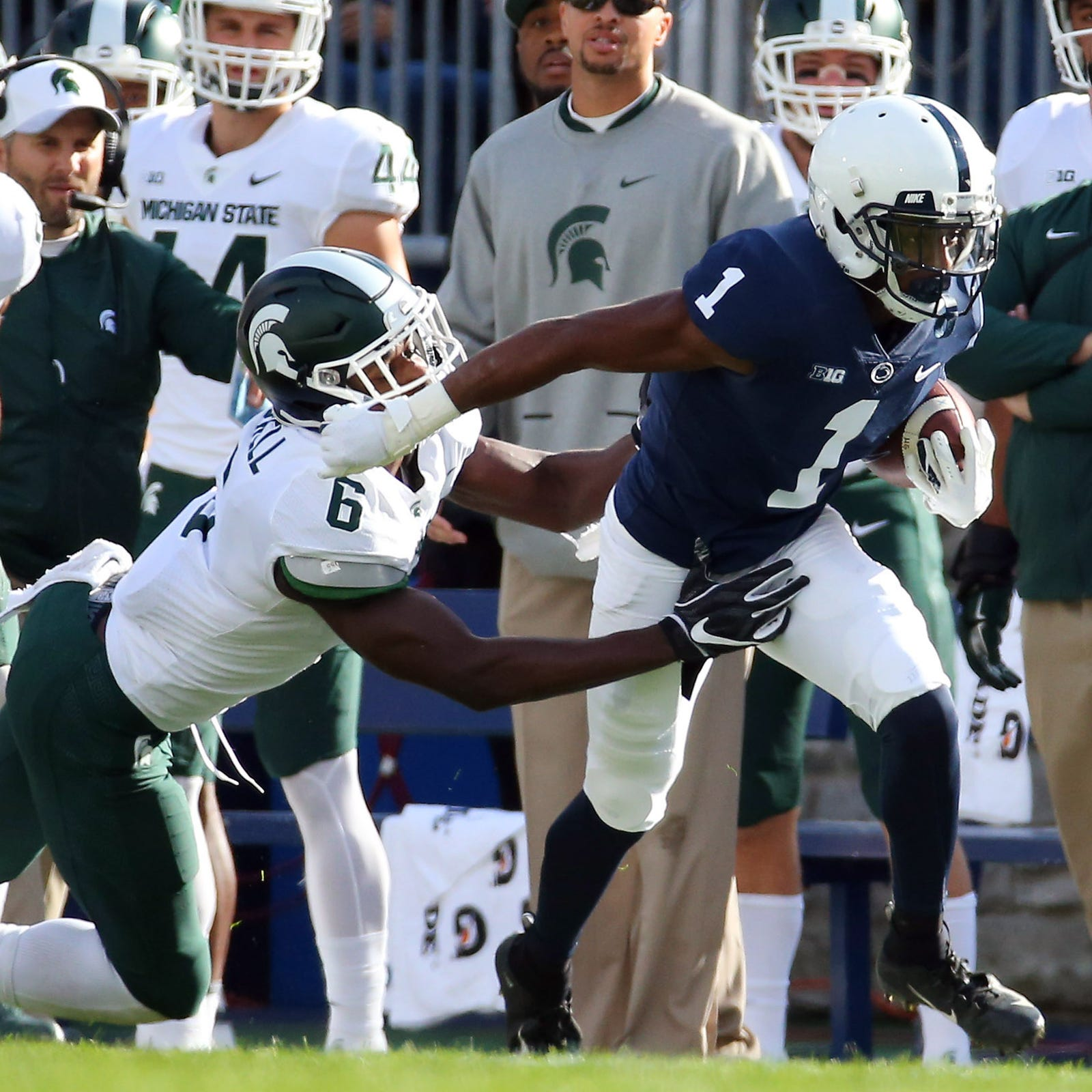 Penn State stunned as tired defense falters in final seconds, 21-17, to Michigan State