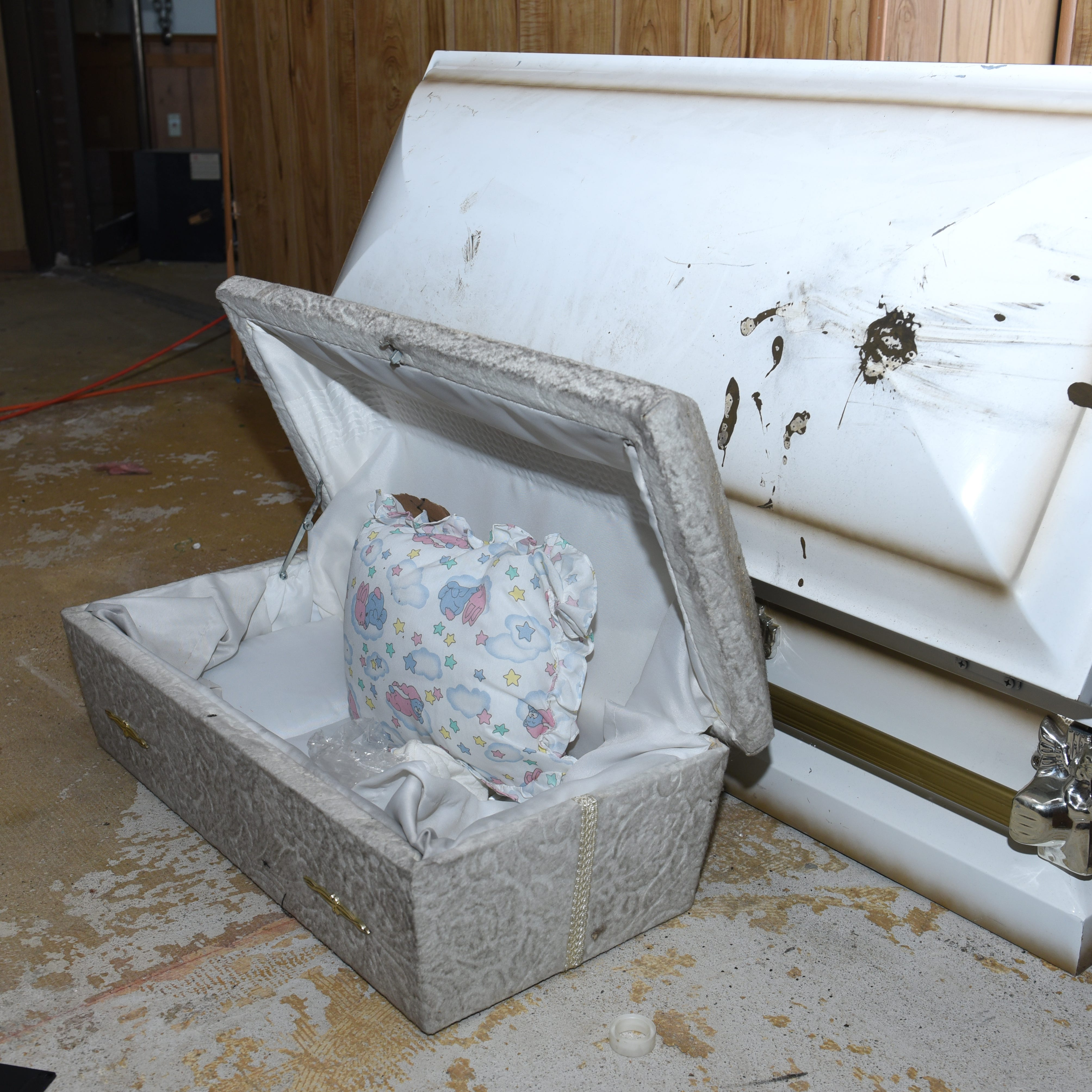 Official: Identifying infant remains could take months