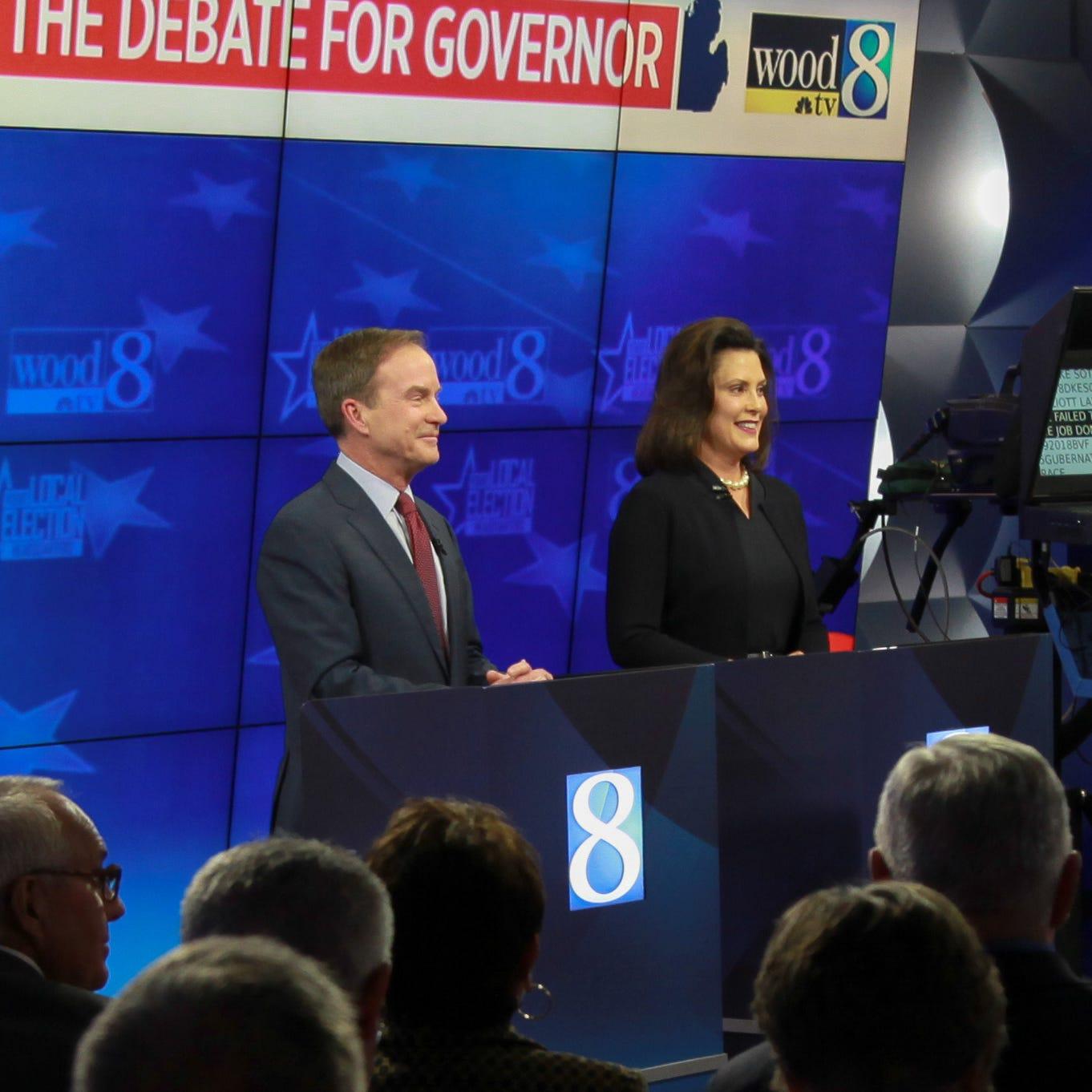 Finley: Gov debate? Next time I'll choose Pat and Vanna