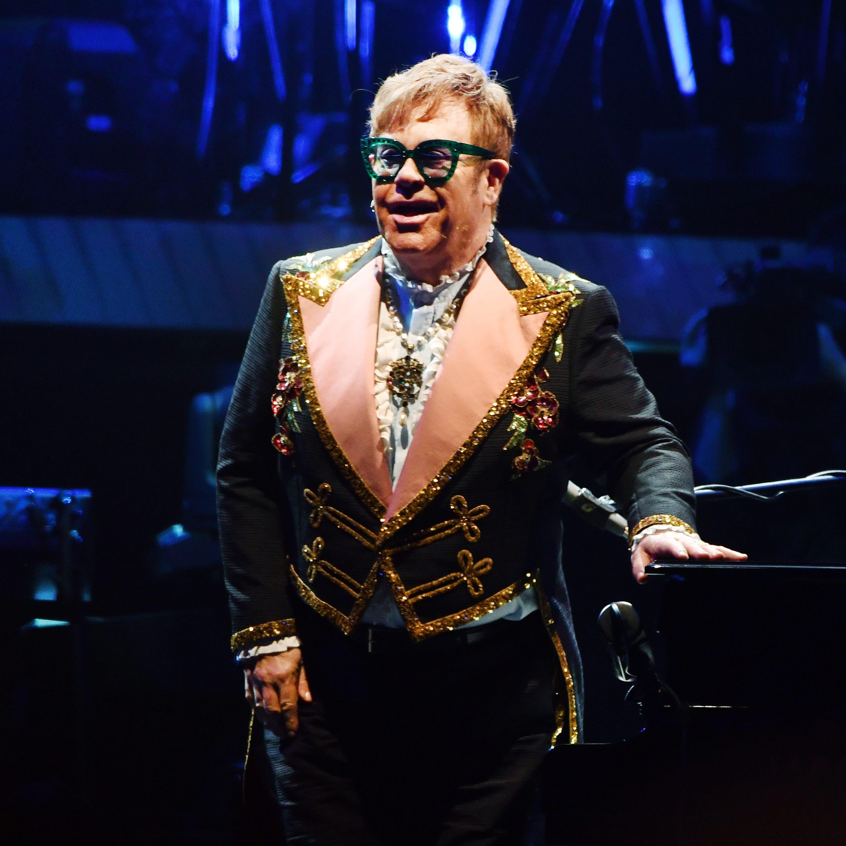 Review: Elton John bids a fond farewell at Little Caesars Arena