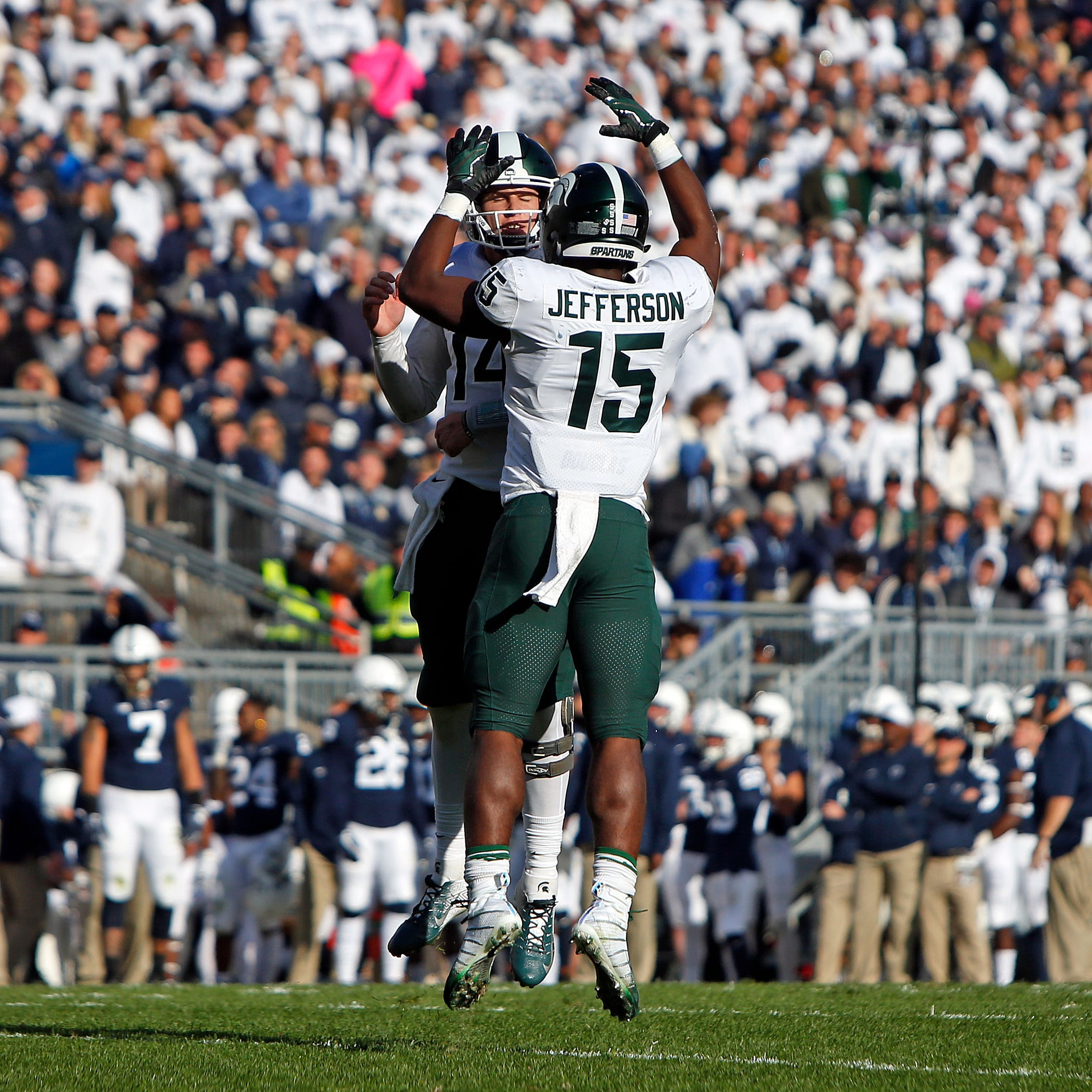 'We'll be ready': Win over Penn State sends MSU soaring into rivalry week