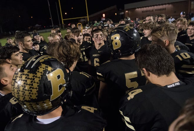 Boonville football celebrated an outright Big Eight Conference championship in football last fall by going undefeated in the regular season.