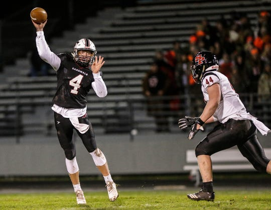 Fond du Lac's Carson Raddatz boasts a team-high 15 rushing touchdowns this season and a 107.9 passer rating.