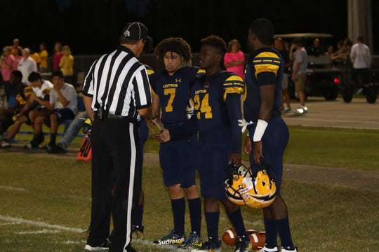 Lehigh defeated East Lee County 48-0 on Friday, Oct. 12.