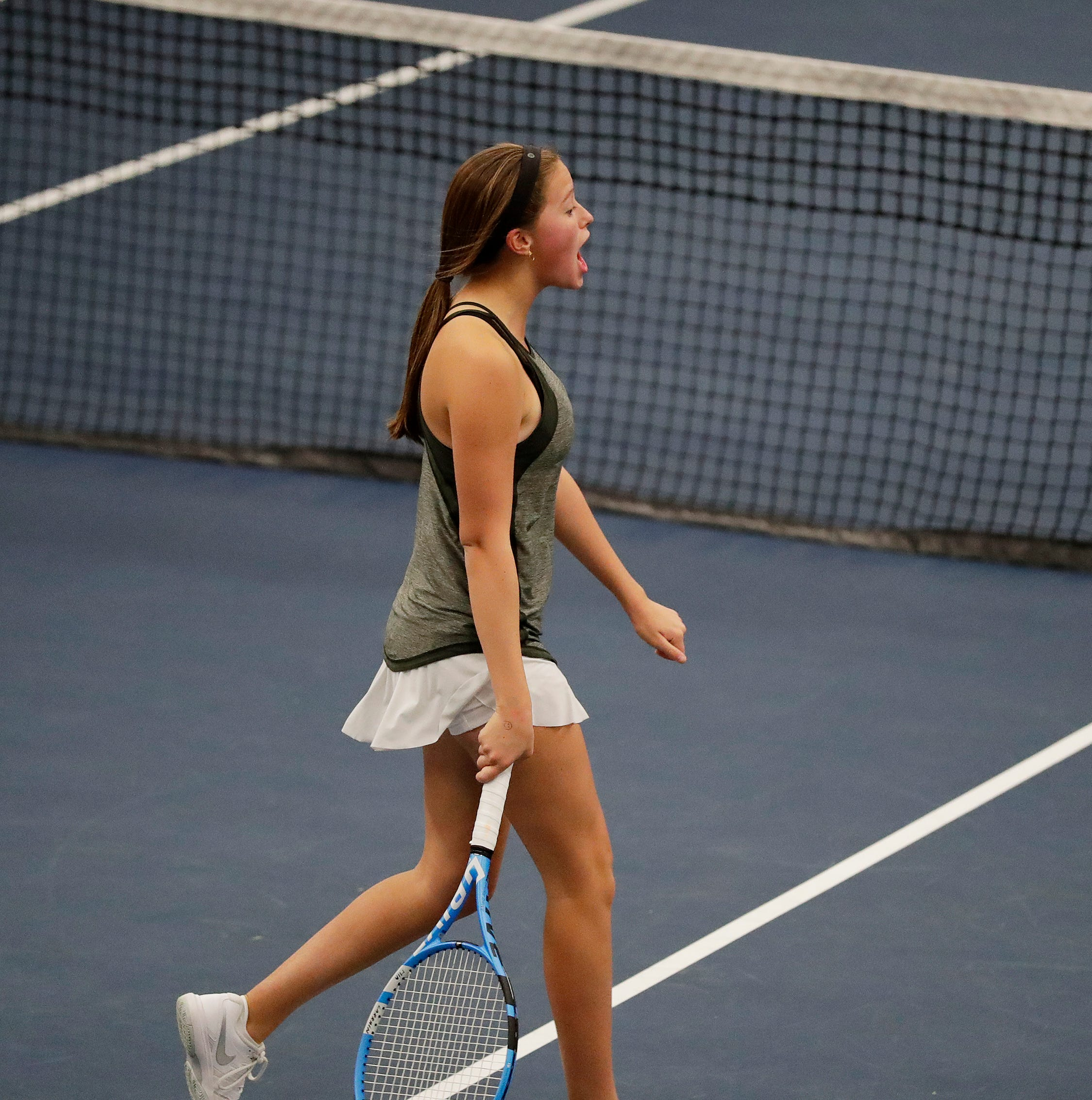 High school girls tennis: Newman's Mia Larrain brings home Division 2 state single title