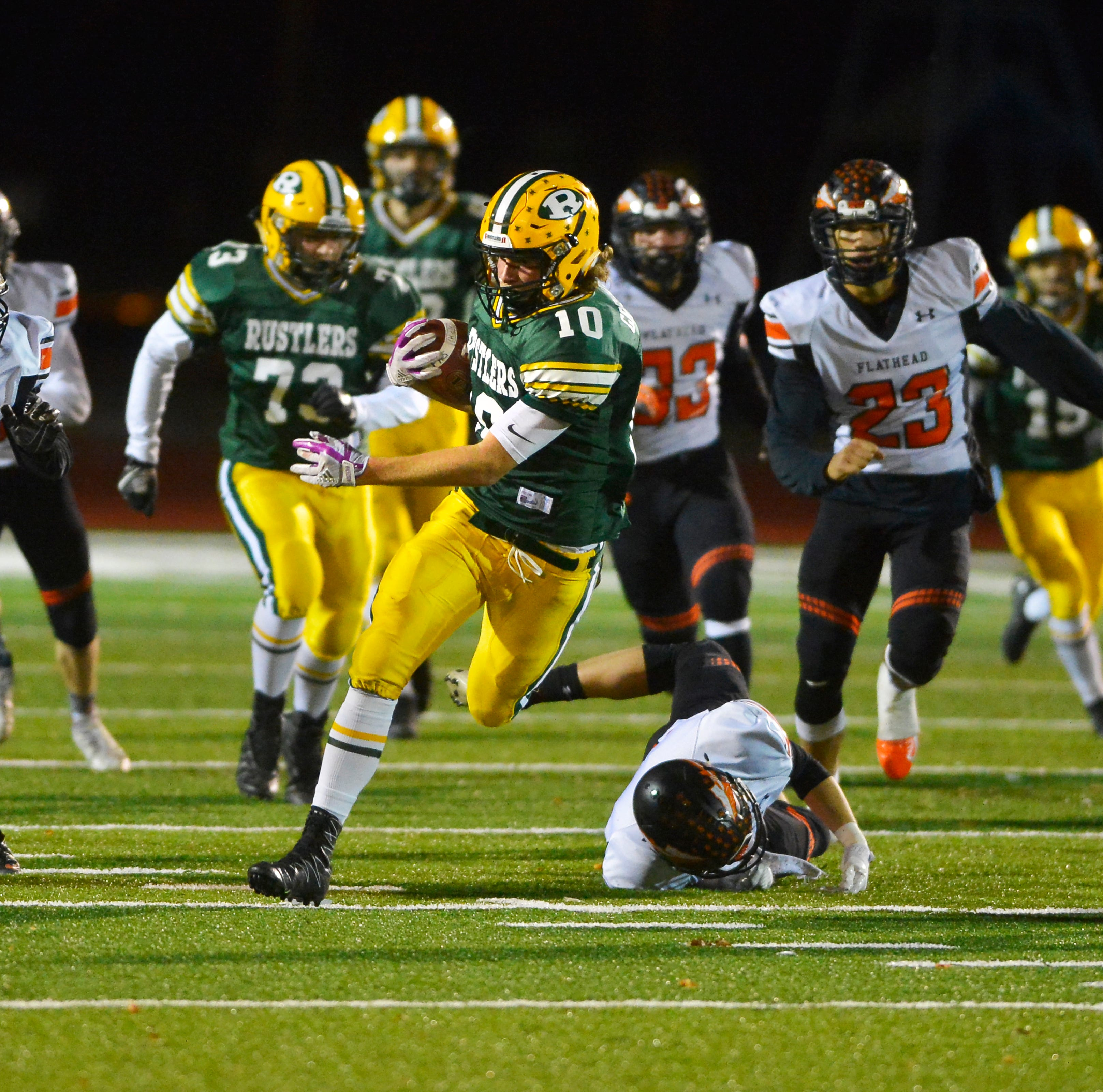 Counts, goal-line stand lead Flathead past Rustlers