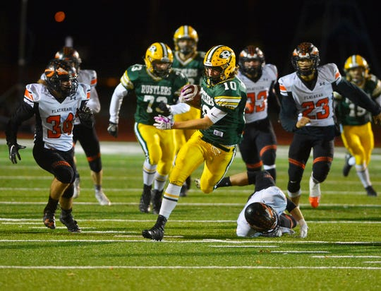 CMR's Tucker Greenwell earned First Team All-State honors as a defensive safety and a special teams ace.